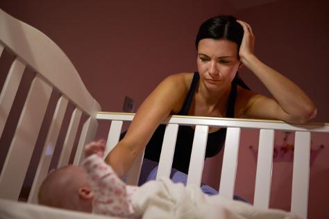 Sleep as a new mum