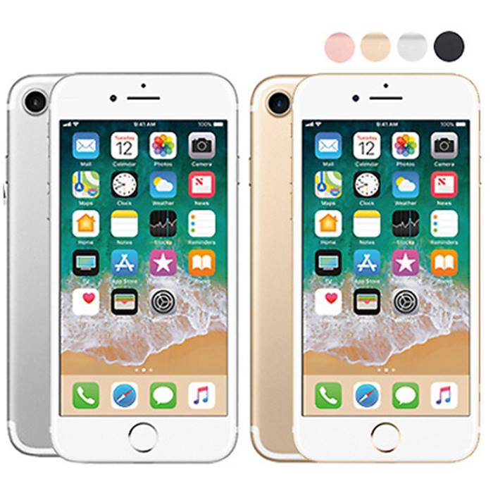Unlocked Apple iPhone 7 with Optional Accessory Bundle - 32GB or 128GB in 4 Colours
