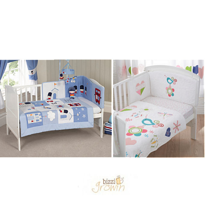 Bizzi Growin 3 Pc Bedding Set