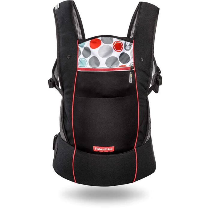 Fisher Price Easy Traveller Close to Me Carrier (Black)