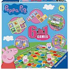 Ravensburger Peppa Pig 6 in 1 Games Set 222