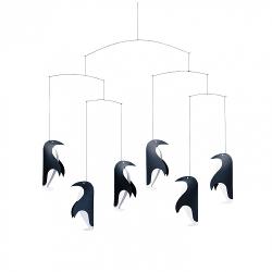 Flensted Mobiles Penguins on Parade Hanging Mobile 250