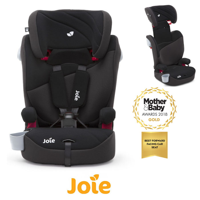 Joie Elevate 20 Group 123 Deluxe Padded High Back Booster Car Seat
