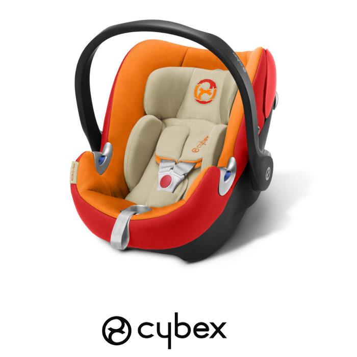 Cybex Aton Q Platinum iSize Group 0 Car Seat Autumn Gold
