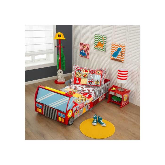 firetruck-toddler-bed