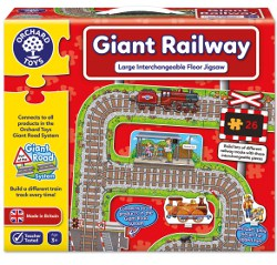 Orchard Toys Giant Railway Floor Puzzle 250