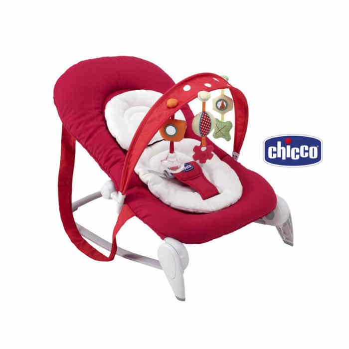 Chicco Hoopla Baby Rocker - Red