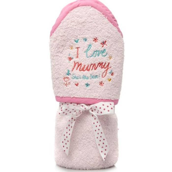ASDA Pink Hooded Towel