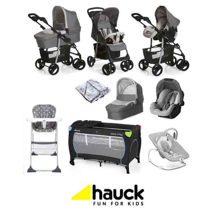 Hauck Shopper SLX Trio Set Everything You Need Travel System Bundle