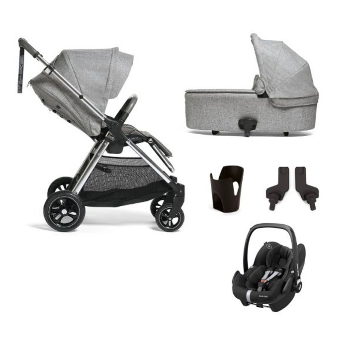 Mamas and Papas Flip XT3 5 piece bundle - Skyline Grey