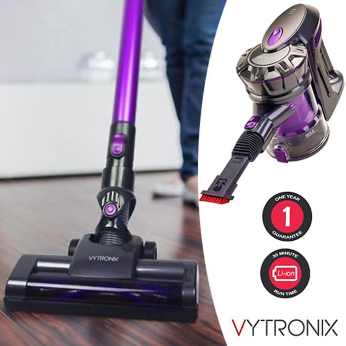 Vytronix Lightweight 3-in-1 Cordless Handheld Stick Vacuum Cleaner