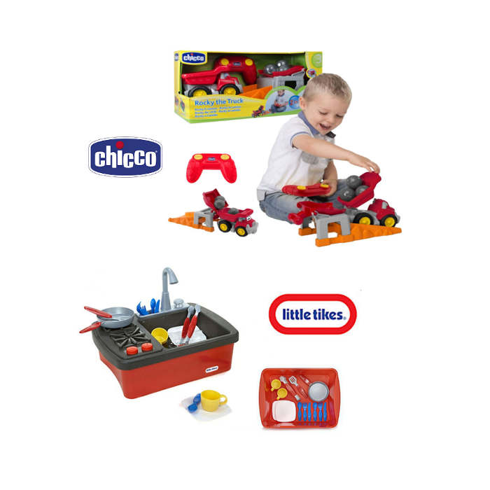 Little Tikes  Chicco Childs Activity Toys For Development  Skills