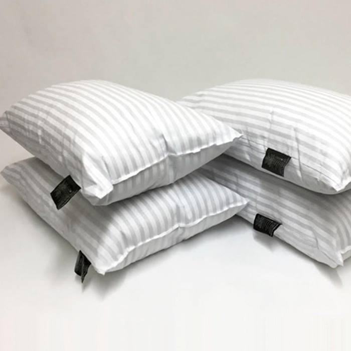 1, 2 or 4-Pack of Hotel Quality Striped Pillows