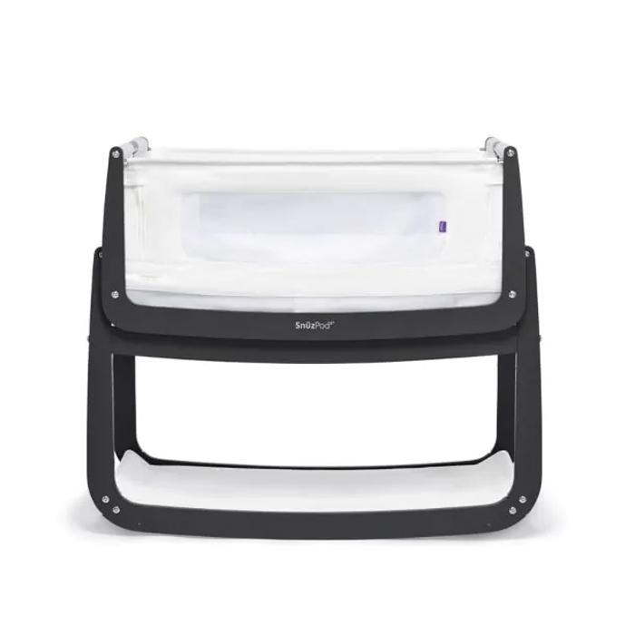 Snuzpod Baby Bedside Crib Slate
