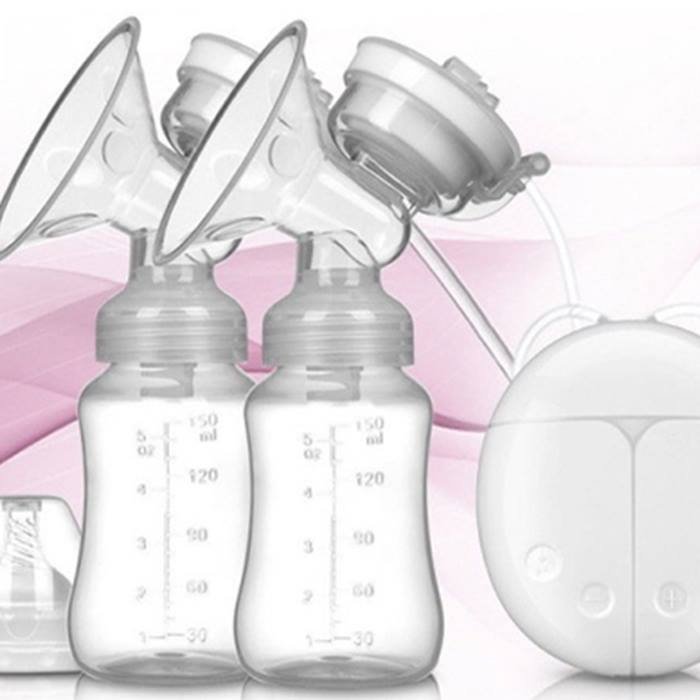 Electric Double Breast Pump - 3 Colours
