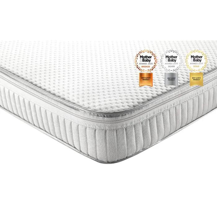 Relyon Luxury Pocket Sprung Cot Bed Mattress
