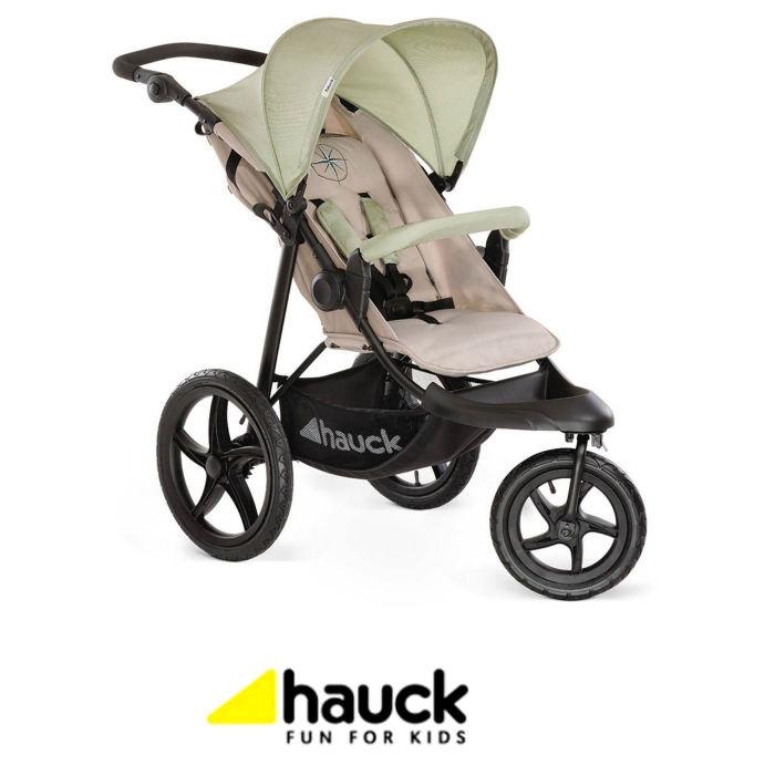 Hauck Runner 3 Wheel Pushchair Stroller - Oil