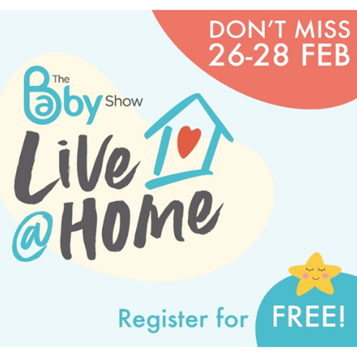 FREE General Admission to The Baby Show Live @ Home!