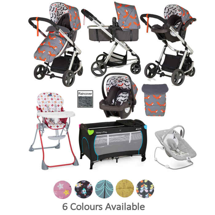 Joie Cosatto Giggle Mix Everything You Need Travel System Bundle