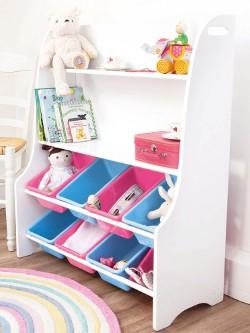 Jojo Maman White Toy Sorter 250