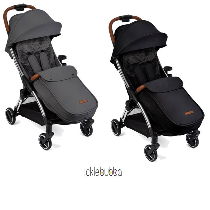 Ickle Bubba Gravity Max Silver Chassis Stroller