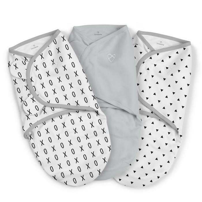 Summer Infant SwaddleMe Small 3 Pack (XO)