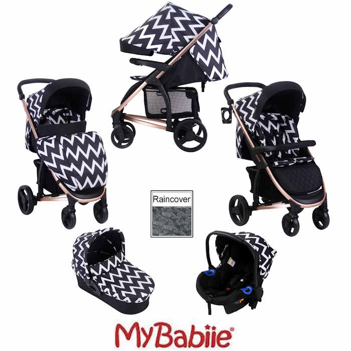 My Babiie MB200+ *Katie Piper Collection* Travel System & Carrycot