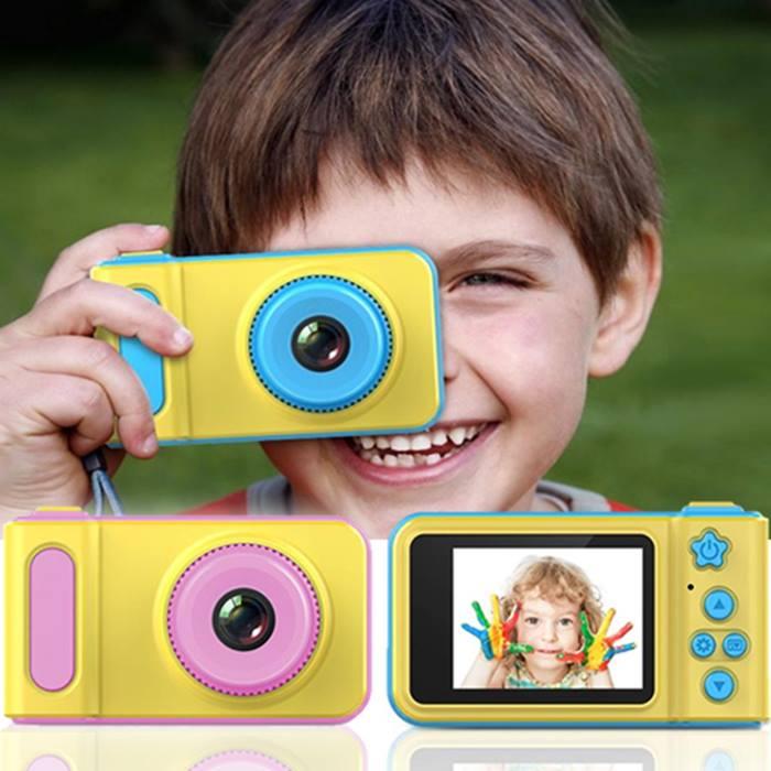 Kids 1080p HD Camera & Video Recorder + Optional 16GB Memory Card