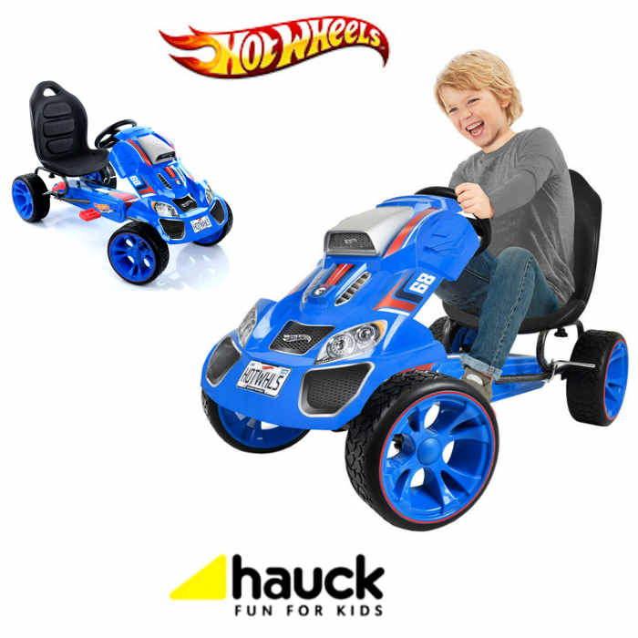 Hauck Hot Wheels XL Pedal Grow With Child GoKart 312yrs Blue