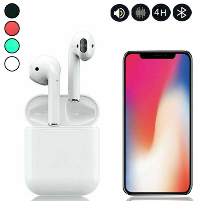 i12 TWS Wireless EarBuds - 4 Colours