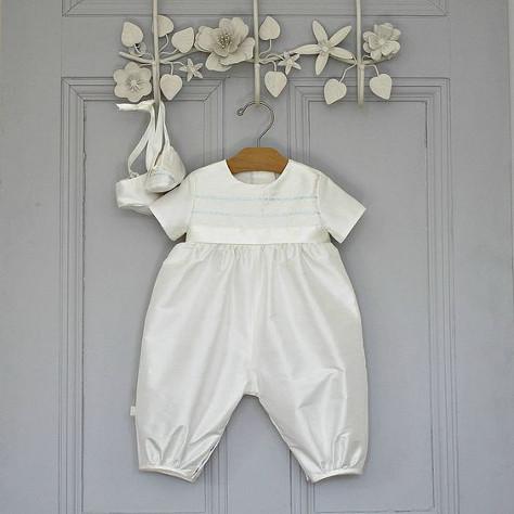 Romper suit for a boy