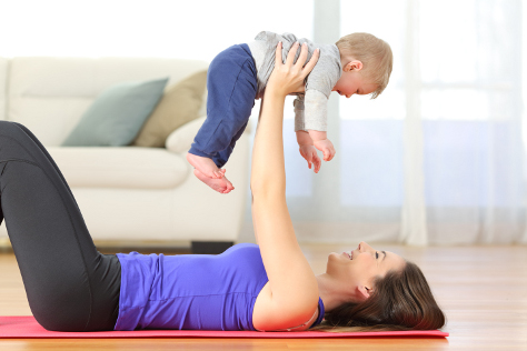 Easy exercises to do with your baby 474