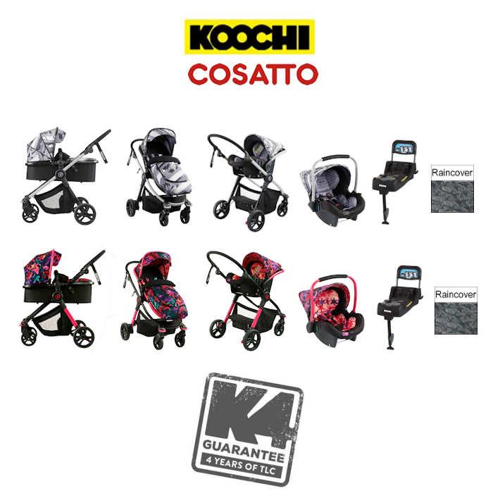 Cosatto Koochi Modhero Travel System With Base