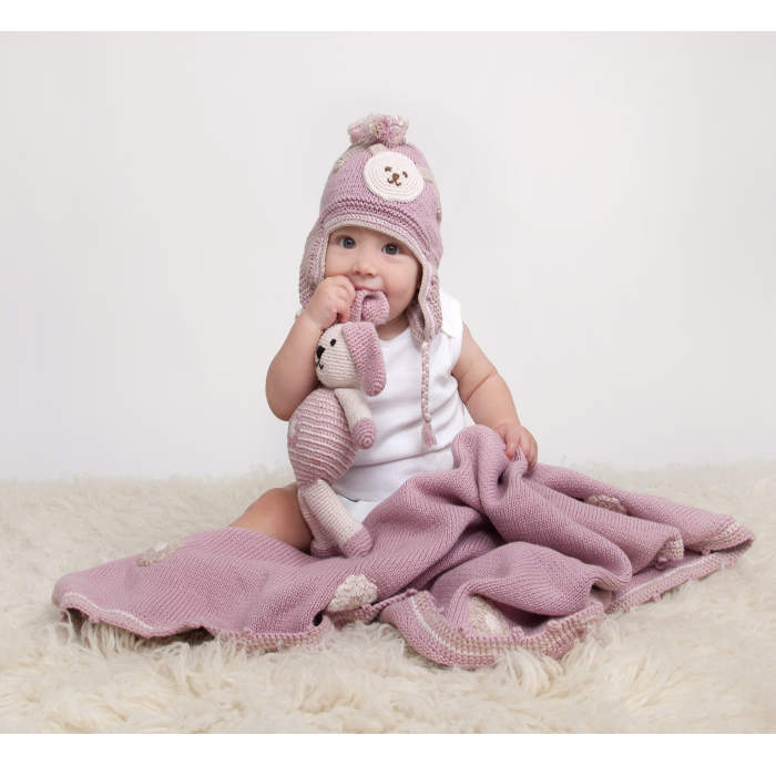 Ivy Pink Blanket Pink Toy Pink hat 2