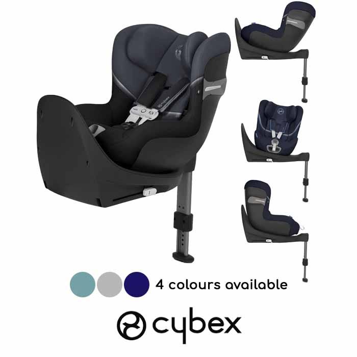 Cybex Sirona S iSize 360 Spin ISOFIX Car Seat inc Base With Sensorsafe