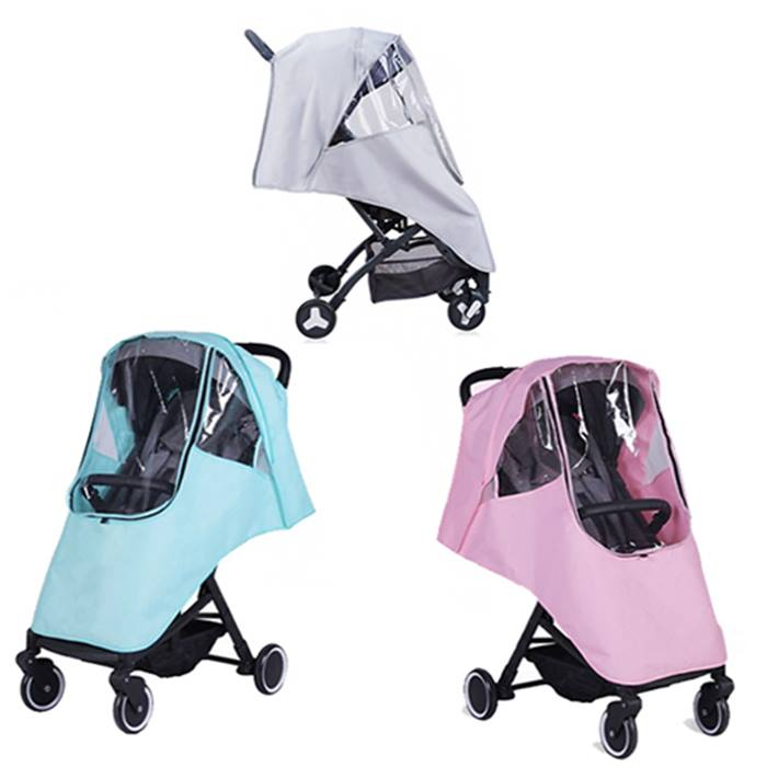 Baby Stroller Rain Cover - 3 Colours
