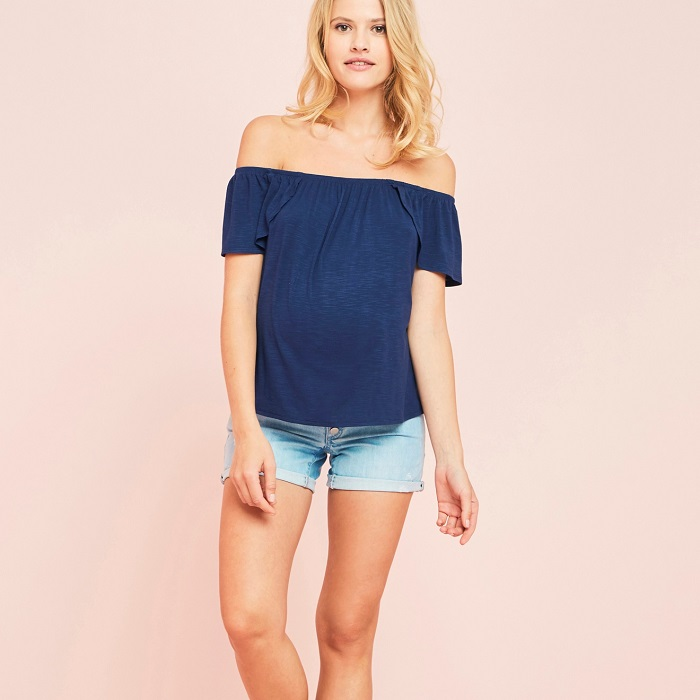 off-the-shoulder-maternity-top
