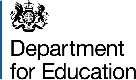 Department for Education logo 474