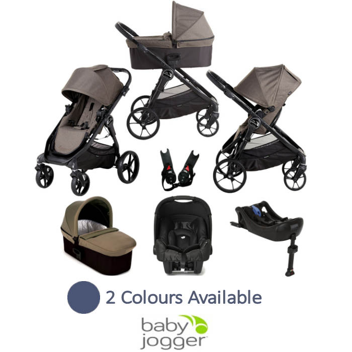 Baby Jogger City Premier (Gemm) Travel System with Carrycot & Isofix Base