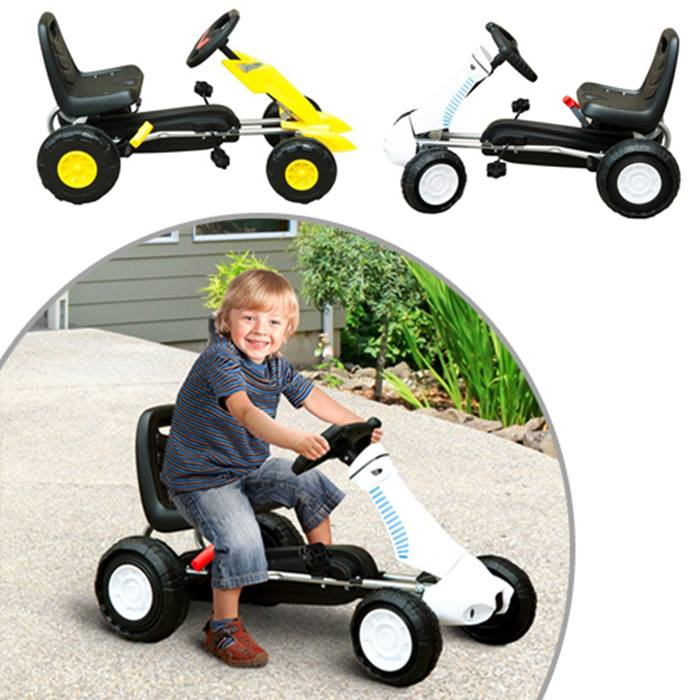 Kid's Pedal Go-Kart - 2 Colours