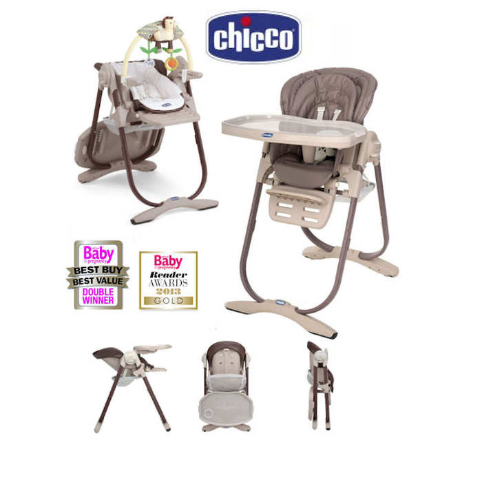Highchairs offers and products bounty for Chaise haute polly 2en1 chicco