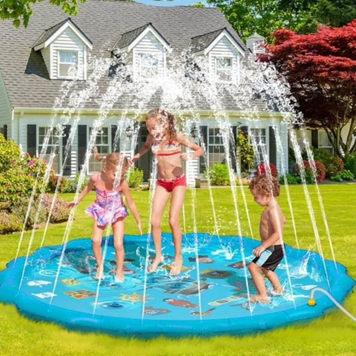 Outdoor PVC Inflatable Sprinkler Pool