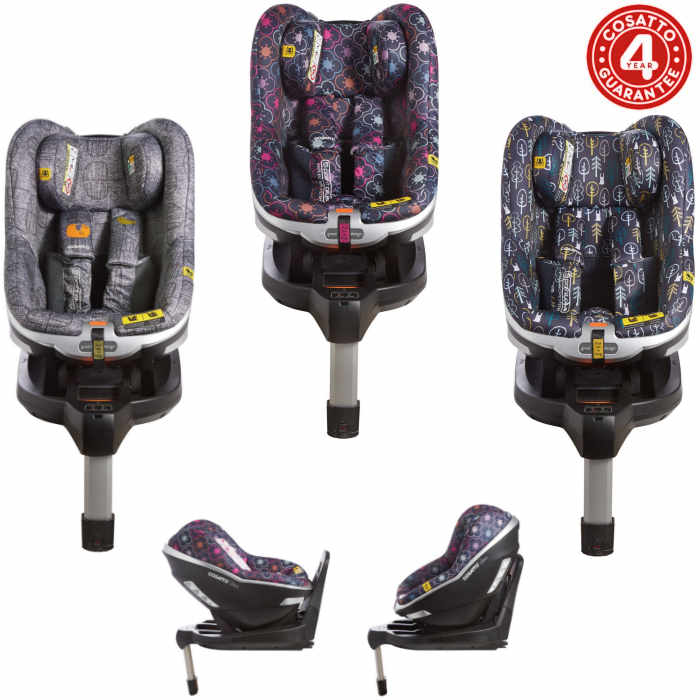 Cosatto Den i-Size Group 0+ / 1 Isofix Car Seat