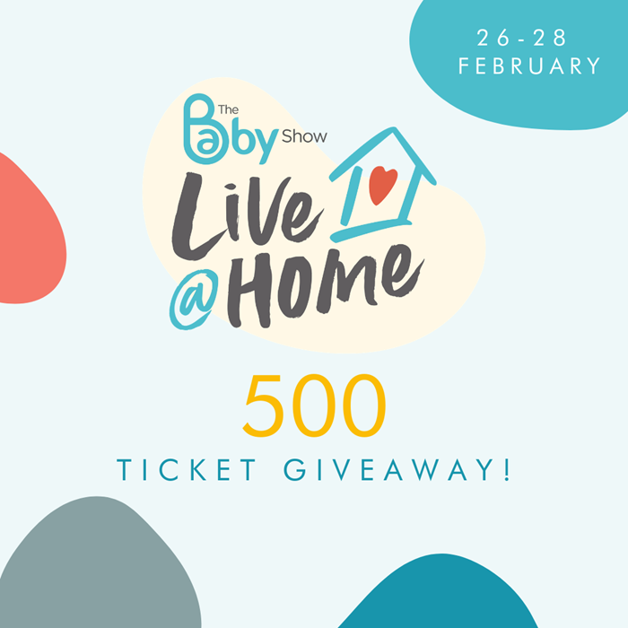 500 ticket giveaway to The Baby Show Live @ Home!