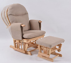 Habebe Glider Rocking Nursing Recliner Chair with footstool