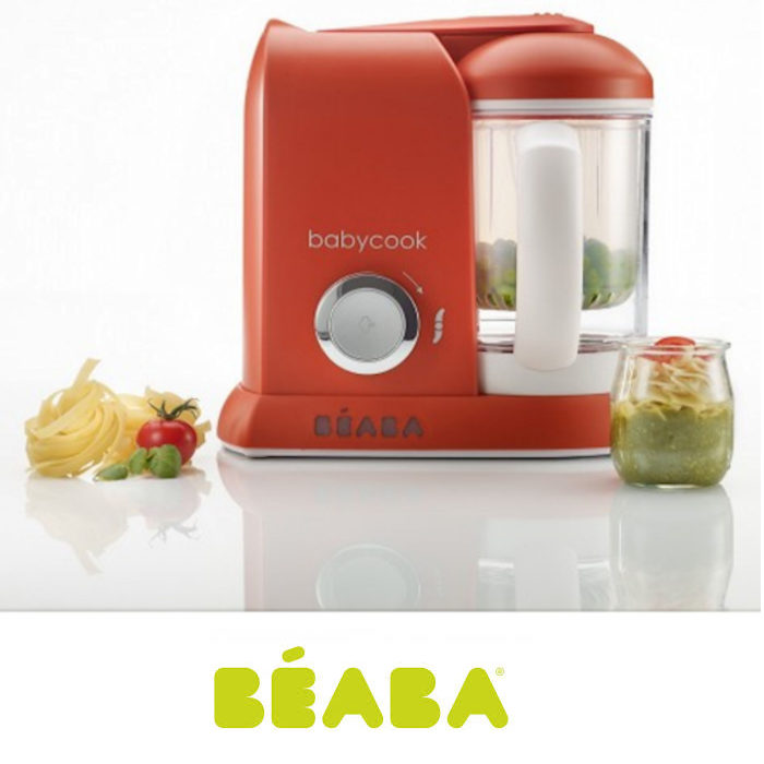 Beaba Babycook Solo 4-in-1 Baby Food Maker & Food Processor