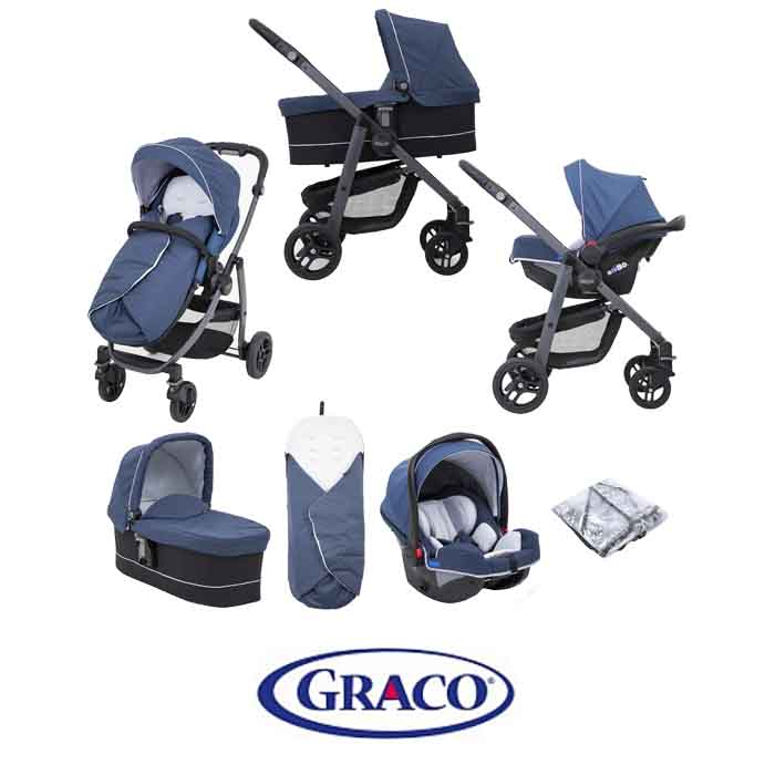 Graco Evo Avant (SnugRide Car Seat) Travel System