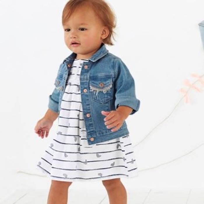 Vertbaudet-Striped-dress