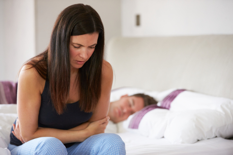 When does morning sickness start image