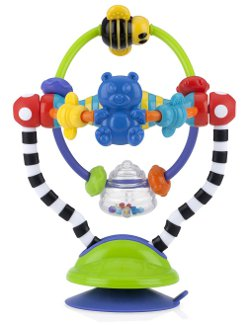 Nuby Silly Spinwheel Highchair Toy, Multi-Colour 250